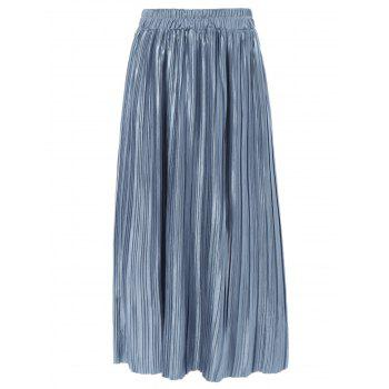 Flowing Pleated Skirt
