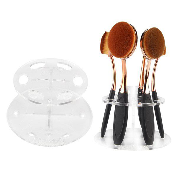 Cosmetic Brushtree Brush Holder Makeup Brush Display Stand rhinestone alloy pendant jewelry set