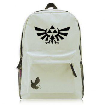 Leisure Colour Splicing and Canvas Design Men's Backpack