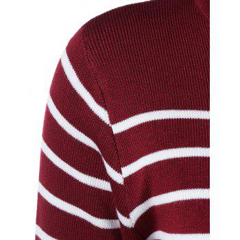 Striped Top + Jupe Furcal Twinset - Rouge et Blanc ONE SIZE