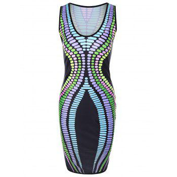 Sleeveless Hourglass Dress