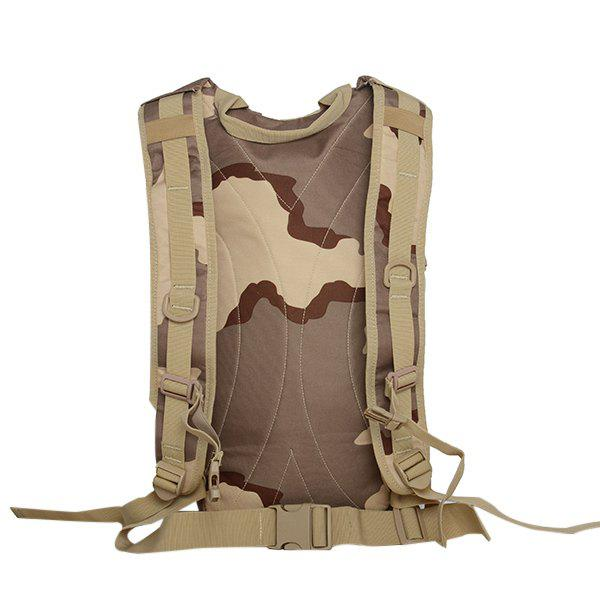 Camouflage Imprimer Mesh Spliced ​​Backpack - Trois Sable Camouflage