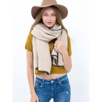 Casual Hemming Long Scarf