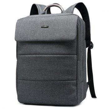 Letter Nylon 15 Inch Laptop Backpack