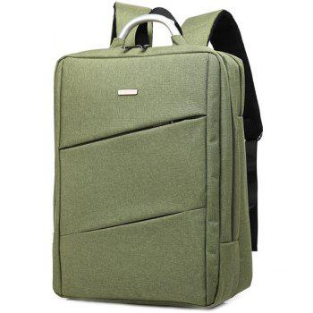Nylon 15 Inch Laptop Backpack - ARMY GREEN ARMY GREEN