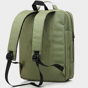 Nylon 15 Inch Laptop Backpack -  ARMY GREEN