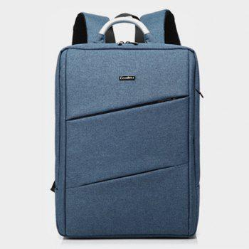 Nylon 15 Inch Laptop Backpack - Denim Bleu