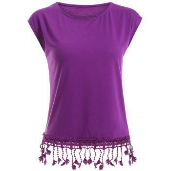 Fitted Tassels T-Shirt