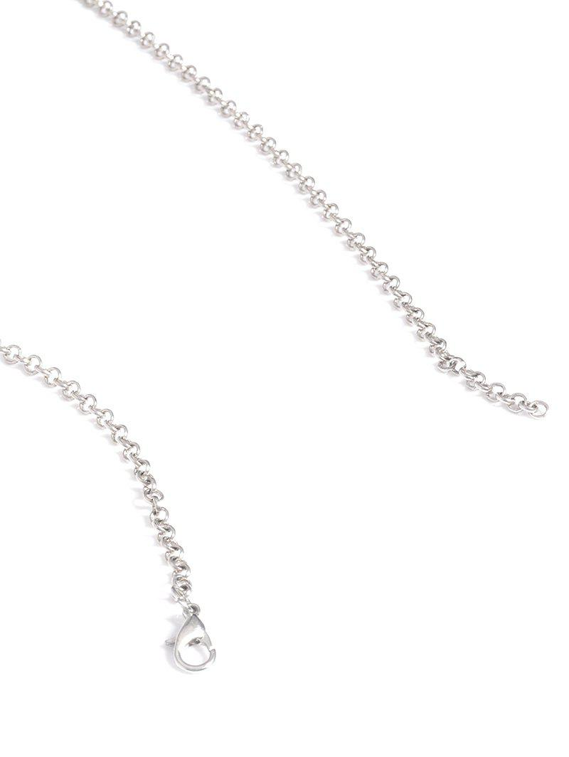Alloy Engraved Coins Geometric Body Chain - SILVER