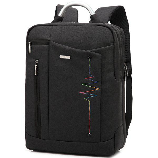 Lettre Nylon 14 Inch Laptop Backpack - [