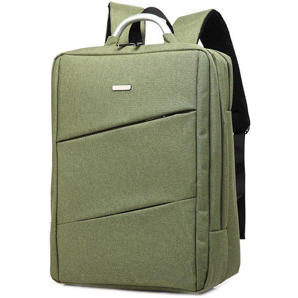 Nylon 15 Inch Laptop Backpack - armée verte