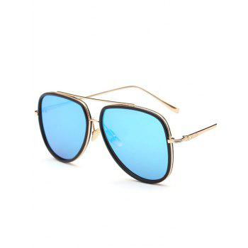 Joy-Ride Mirrored Pilot Sunglasses