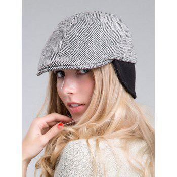 Outdoor Casual Quadrate Plaid Ivy Hat