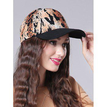 Outdoor Leopard Print Baseball Hat
