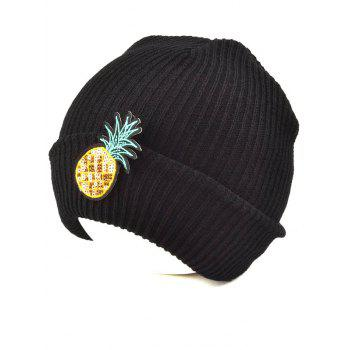 Outdoor Pineapple Shape Sequins Knitted Beanie