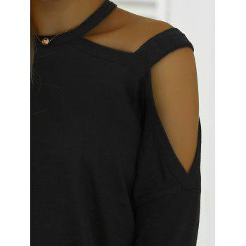 Full Sleeve Cut Out Tee - ONE SIZE ONE SIZE