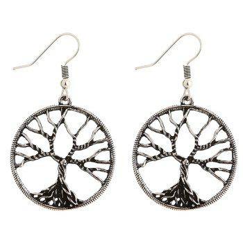 Pair of Tree of Wisdom Drop Earrings