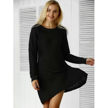 Pull à manches longues Robe - Noir ONE SIZE