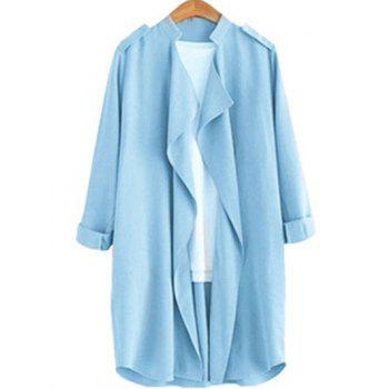 Plus Size Thin Trench Coat