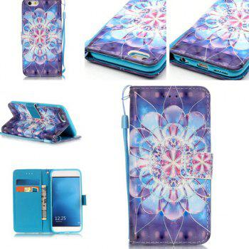 Wallet Design Flower Pattern Phone Case For iPhone 6S Plus