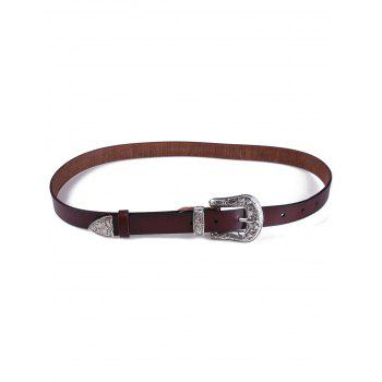 Personality Retro Carve Pin Buckle Belt
