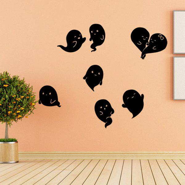 Removable Hallowmas Ghost Pattern Room Wall Sticker ghost tree design removable room halloween wall sticker