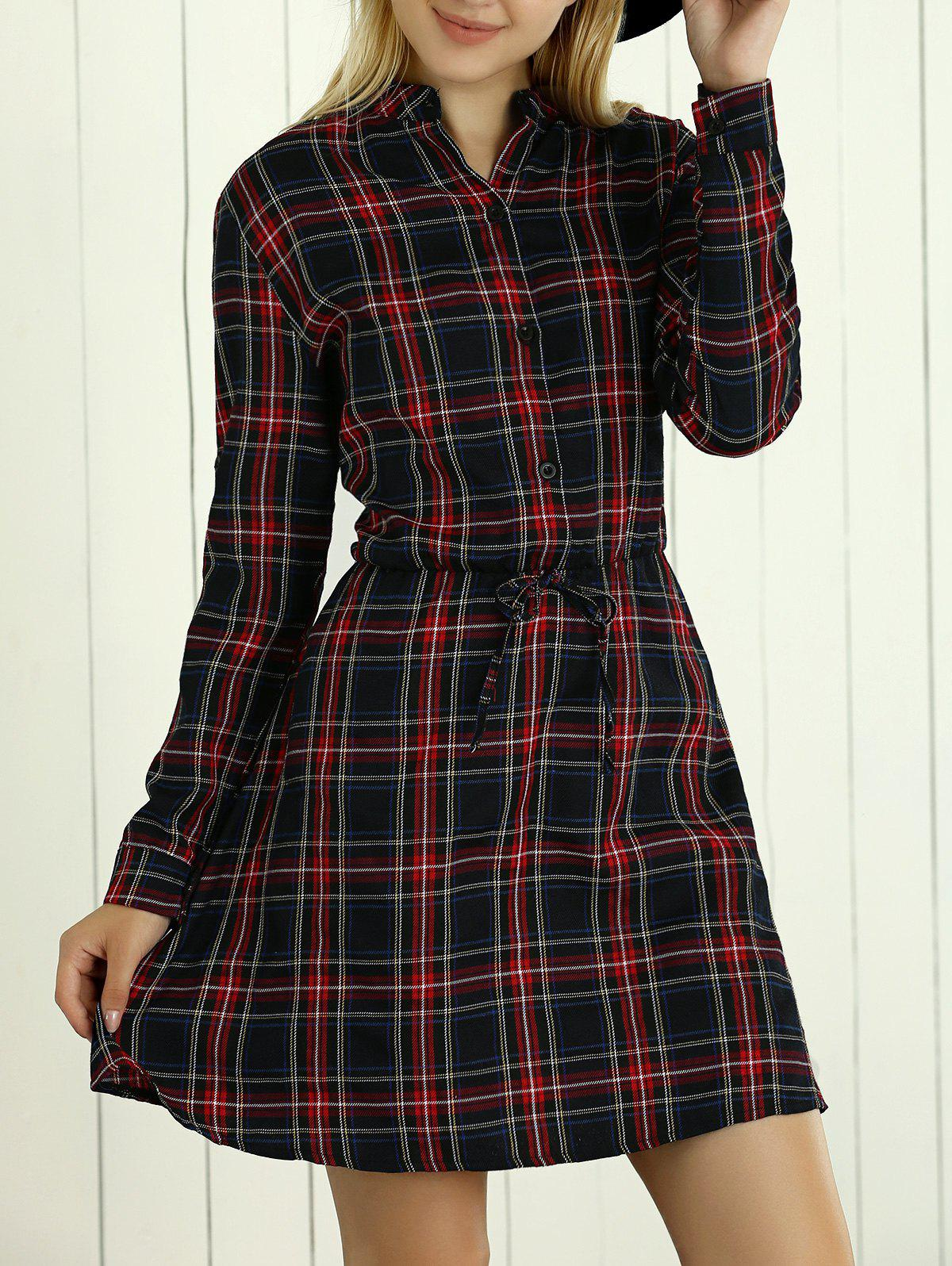 Plaid Shirt Dresses. invalid category id. Plaid Shirt Dresses. Showing 18 of 18 results that match your query. Sexy Women Side Slits Criss Cross Back Long Maxi Dress, L. Add To Cart. There is a problem adding to cart. Please try again. Product - Lauren Ralph Lauren Womens Wool Faux Leather Trim Wear to Work Dress.