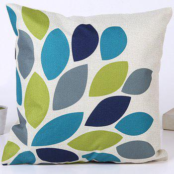Hot Sale Waterdrop Leaves Pattern Cushion Pillow Case