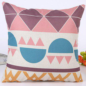 Geometry Stripe Rhombus Pattern Sofa Car Cushion Pillow Case