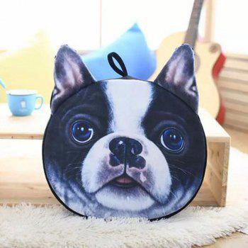 Detachable Bulldog Shape Sponge Padding Sofa Cushion