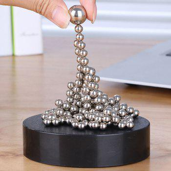 Creative Ball Toys Magnetic Holder Office Decoration - SILVER SILVER