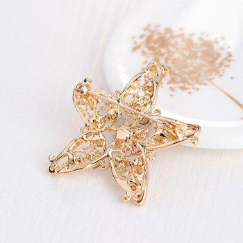 Filigree Star Brooch - GOLDEN