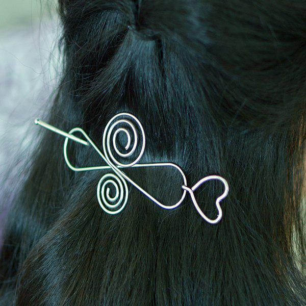 Music Note Infinite Heart Hair Accessory