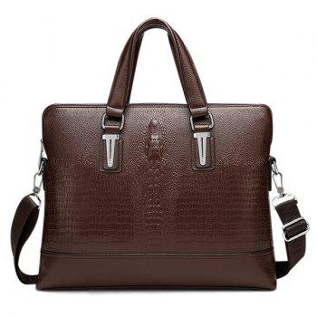 Dark Colour Metal Embossing Briefcase