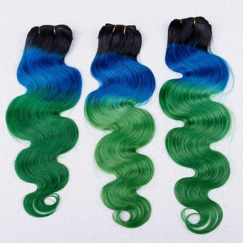 Multi 3Piece/Lot 8A Virgin Body Wave Brazilian Hair Weaves - COLORMIX 18INCH*18INCH*18INCH