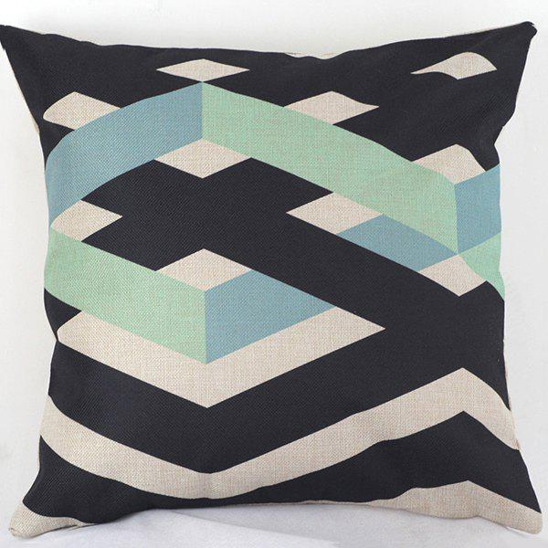 High Quality Linellae Geometry Sofa Bed Pillow Case