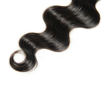 1 Pcs 6A Body Wave Virgin Brazilian Hair Weave - BLACK BLACK