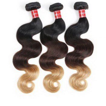 Body Wave 1 Pcs 6A Virgin Multicolor Brazilian Hair Weaves