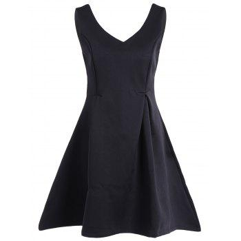 Sleeveless Fit and Flare Mini Dress
