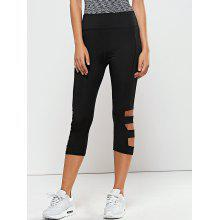 Hollow Out Quick -Dry Yoga Leggings Pants