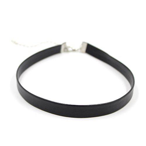 Artificial Leather Choker