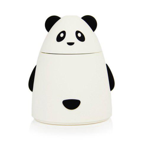 Humidificateur USB Purificateur d'Air en Forme de Mini Ours de Dessin Animé - Blanc