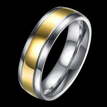 Round Titanium Steel Ring