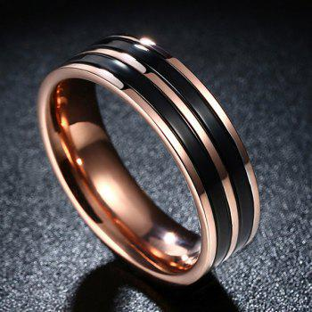 Circle Titanium Steel Ring
