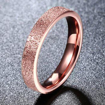 Embellished Titanium Steel Ring