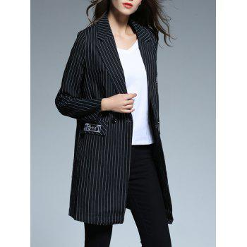 Striped Patched Blazer - XL XL