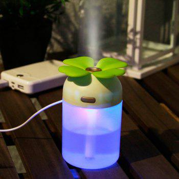 Colorful Lamp Lucky Grass Air Purifier USB Humidifier -  GREEN