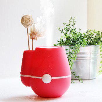 Mini Vase Design Car Air Purifier USB Ultrasonic Humidifier