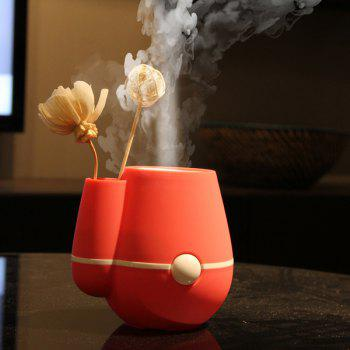 Mini Vase Design Car Air Purifier USB Ultrasonic Humidifier - ROSE MADDER