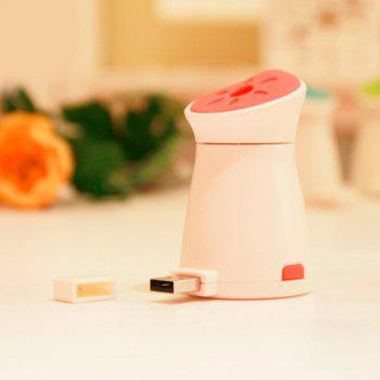 Mute Mini Mosquito Dispeller Car Air Purifier USB Ultrasonic Humidifier - RED